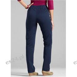 Spodnie STRAIGHT z gumką w talii