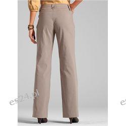 Spodnie z bengaliny ze streczu