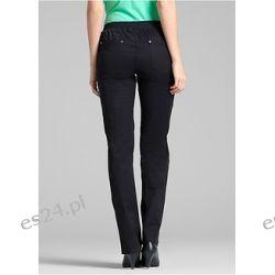 Modne spodnie z wygodnym paskiem