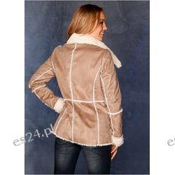 Kurtka ze sztucznej skóry Stylowa kurtka z kolekcji RAINBOW, ze sztucznej skóry o wyglądzie skóry jagnięcej....
