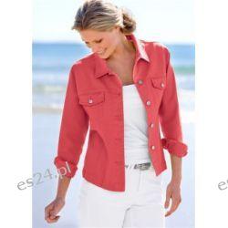 Kurtka Do wyboru w najmodniejszych letnich kolorach! Fason kurtki dżinsowej z 4 kieszeniami