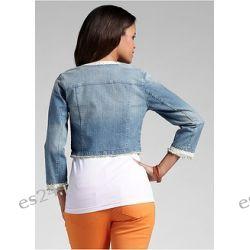 Kurtka dżinsowa Modna kurtka dżinsowa z kolekcji RAINBOW. Urzeka krótkim, dopasowanym fasonem