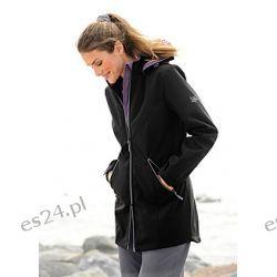 Płaszcz softshell Idealny przejściową porą płaszcz typu softshell. Nieprzemakalny (słup wody 3.000 mm)...