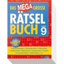 Bücher: Das megagroße Rätselbuch Band 9