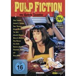 Film: Pulp Fiction von Quentin Tarantino mit Tim Roth, Amanda Plummer, Laura Lovelace, John Travolta, Samuel L. Jackson, Phil Lamarr, Frank Whaley, Burr Steers, Bruce Willis, Ving Rhames, Paul
