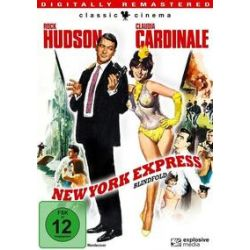 Film: New York Express von Philip Dunne mit Rock Hudson, Claudia Cardinale, Jack Warden