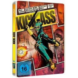 Film: Kick-Ass - Reel Heroes Limited Steelbook Edition von Matthew Vaughn mit Aaron Johnson, Christopher Mintz-Plasse, Mark Strong, Chloë Grace Moretz, Nicholas Cage