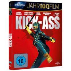 Film: Jahr 100 Film - Kick-Ass von Matthew Vaughn, Jane Goldman von Matthew Vaughn mit Aaron Johnson, Christopher Mintz-Plasse, Mark Strong, Chloë Grace Moretz, Nicholas Cage