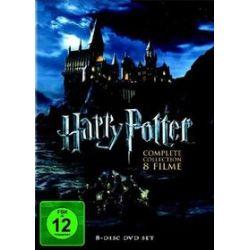 Film: Harry Potter Box Set - The Complete Collection (8 Discs) von Michael Goldenberg, Steve Kloves, Joanne K. Rowling von Alfonso Cuaron, Chris Columbus, Mike Newell, David Yates mit Daniel