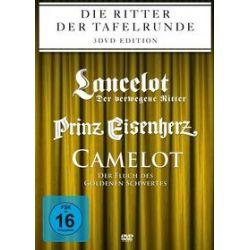 Film: Die Ritter der Tafelrunde: Prinz Eisenherz / Camelot / Lancelot von Stephen Weeks, Cornel Wilde mit Robert Wagner, Sean Connery, Cornel Wilde