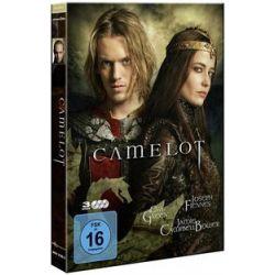 Film: Camelot, 3 DVD von Mikael Salomon von Camelot mit Joseph Fiennes, Eva Green, Jamie Campbell Bower, Sebastian Koch, James Purefoy, Tamsin Egerton, Claire Forlani, Chipo Chung, Sinéad Cusack,