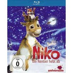 Film: Niko - Ein Rentier hebt ab von Michael Hegner, Kari Juusonen von Niko BD-Ein Rentier hebt ab