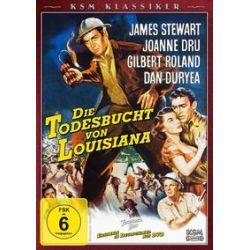 Film: KSM Klassiker - Die Todesbucht von Louisiana von Anthony Mann mit James Stewart, Joanne Dru, Gilbert Roland, Dan Duryea, Jay C. Flippen