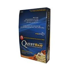 Quest Nutrition, Quest Protein Bar, Vanilla Almond Crunch, 12 Bars, 2.12 oz (60 g) Each - iHerb.com