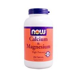 Now Foods, Calcium & Magnesium, 250 Tablets - iHerb.com