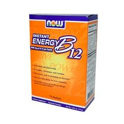 Now Foods, Instant Energy B12, 75 Packets, 2.65 oz (75 g) - iHerb.com