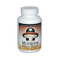 Source Naturals, Mushroom Immune Defense, 16-Mushroom Complex, 60 Tablets - iHerb.com