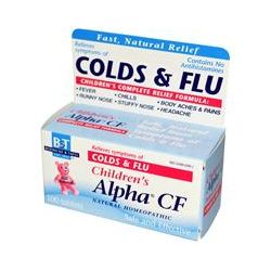 Boericke & Tafel, Children's Alpha CF, 100 Tablets - iHerb.com