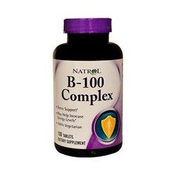 Natrol, B-100 Complex, 100 Tablets - iHerb.com