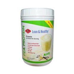 Olympian Labs Inc., Lean & Healthy Pea Protein, Vanilla Bean, 1 lb 11 oz (760 g) - iHerb.com