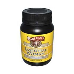 Barlean's, The Essential Woman Supplement, 120 Softgels, 1,000 mg Each - iHerb.com