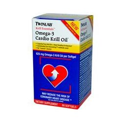 Twinlab, Krill Essentials, Omega-3 Cardio Krill Oil, 60 Softgels - iHerb.com