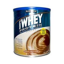 Country Life, Gluten Free, BioChem Sports, 100% Whey Protein Powder, Chocolate Fudge, 30.8 oz (879 g) - iHerb.com