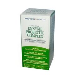 American Health, Enzyme Probiotic Complex, 90 Veggie Caps - iHerb.com