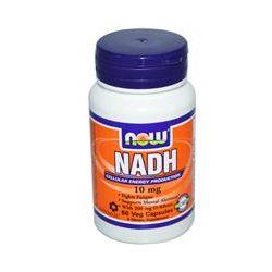 Now Foods, NADH, 10 mg, 60 Veggie Caps - iHerb.com