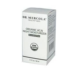 Dr. Mercola, Organic Acai Night Moisturizer, Rejuvenating, 1.7 fl oz (50 ml) - iHerb.com
