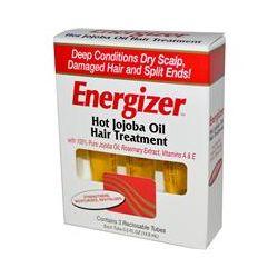 Hobe Labs, Energizer, Hot Jojoba Oil Hair Treatment, 3 Reclosable Tubes, 0.5 fl oz (14.8ml) Each - iHerb.com