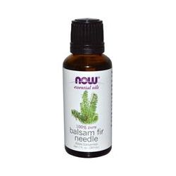 Now Foods, Essentials Oils, Balsam Fir Needle, 1 fl oz (30 ml) - iHerb.com