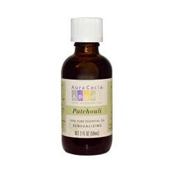 Aura Cacia, 100% Pure Essential Oil, Patchouli, 2 fl oz (59 ml) - iHerb.com