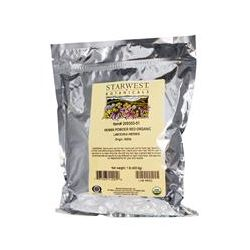 Starwest Botanicals, Organic Henna Powder, Red, 1 lb (453.6 g) - iHerb.com
