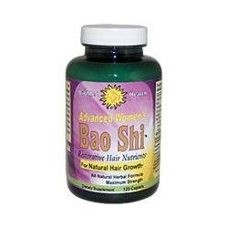 Biomed Health Inc., Advanced Women's Bao Shi, Restorative Hair Nutrients, 120 Caplets - iHerb.com