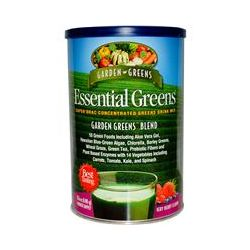 Garden Greens, Essential Greens, Super ORAC Concentrated Greens Drink Mix, Very Berry Flavor, 17.6 oz (498 g) - iHerb.com