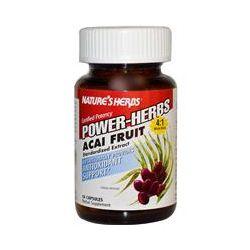 Nature's Herbs, Power-Herbs, Acai Fruit, 60 Capsules - iHerb.com