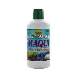 Dynamic Health, Organic, Maqui, Aristotelia Chilensis Juice Blend, 33.8 fl oz (1 Liter) - iHerb.com