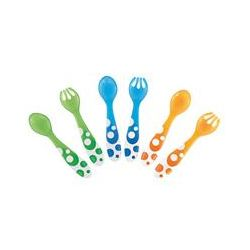 Munchkin, Multi Forks & Spoons, 12+ Months, 6 Pieces - iHerb.com