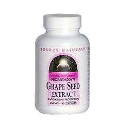 Source Naturals, Proanthodyn, Grape Seed Extract, 200 mg, 90 Capsules - iHerb.com