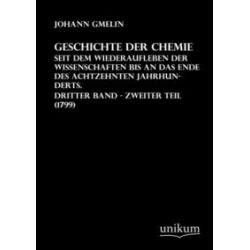 Bücher: Geschichte der Chemie von Johann Gmelin