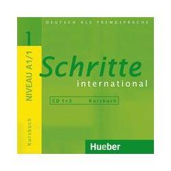 Hörbücher: Schritte international 1. 2 Audio-CDs zum Kursbuch von Monika Reimann, Franz Specht, Sylvette Penning-Hiemstra, Daniela Niebisch