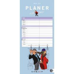Loriot Planer für zwei 2014: mit Schulferien [Kalender] [Kalender]