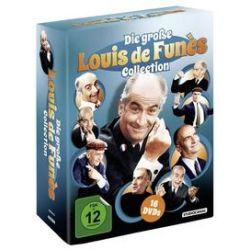 Film: Die große Louis de Funès Collection, 16 DVD  von Jean Loubignac mit Louis de Funès, Bourvil, Jean Gabin, Geraldine Chaplin