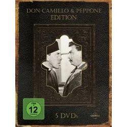 Film: Don Camillo & Peppone, 5 DVD  von Gloria Leda, Gino Cervi, Fernandel von Julien Duvivier, Carmine Gallone, Luigi Comencini mit Fernandel, Gino Cervi