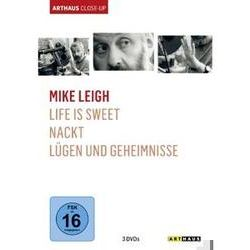 Film: Mike Leigh - Arthaus Close-Up, 3 DVD  von Mike Leigh von Mike Leigh mit Brenda U. a. mit Blethyn, David Thewlis, Timothy Spall