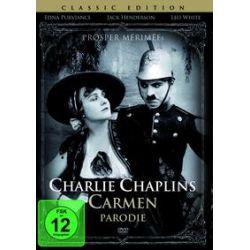 Film: Charlie Chaplins Carmen Parodie  von Charles Chaplin von Edna Purviance, Jack Henderson, Leo White mit Charlie Chaplin