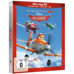 Film: Planes Superset (3D BD + 2D BD) (Blu-ray)  von Jeffrey M. Howard von Klay Hall mit Walt Disney