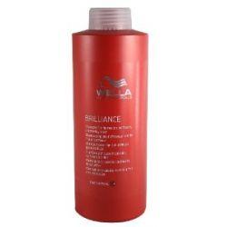 Wella Professionalss Brilliance unisex, Shampoo für feines bis normales, coloriertes Haar 1000 ml, 1er Pack (1 x 1 Stück)
