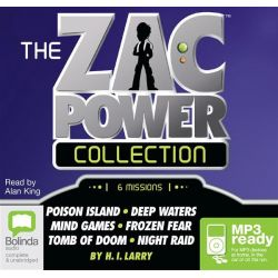 The Zac Power Collection 1 Audio Book (Audio CD) by H. I. Larry, 9781743166772. Buy the audio book online.